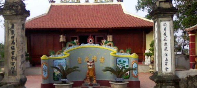 Đền Bạch Mã gắn liền với lịch sử huyện Yên Thành