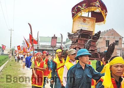 Đền Cả- ngôi đền gắn với tín ngưỡng nông nghiệp
