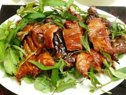 Thịt chuột Yên Thành mùa nước nổi