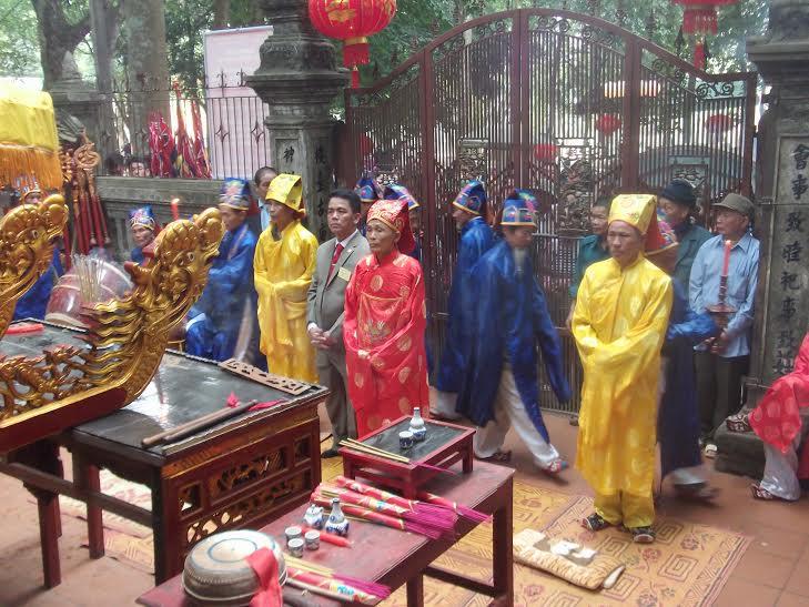 Nét văn hóa linh thiêng lễ hội đền Đức Hoàng