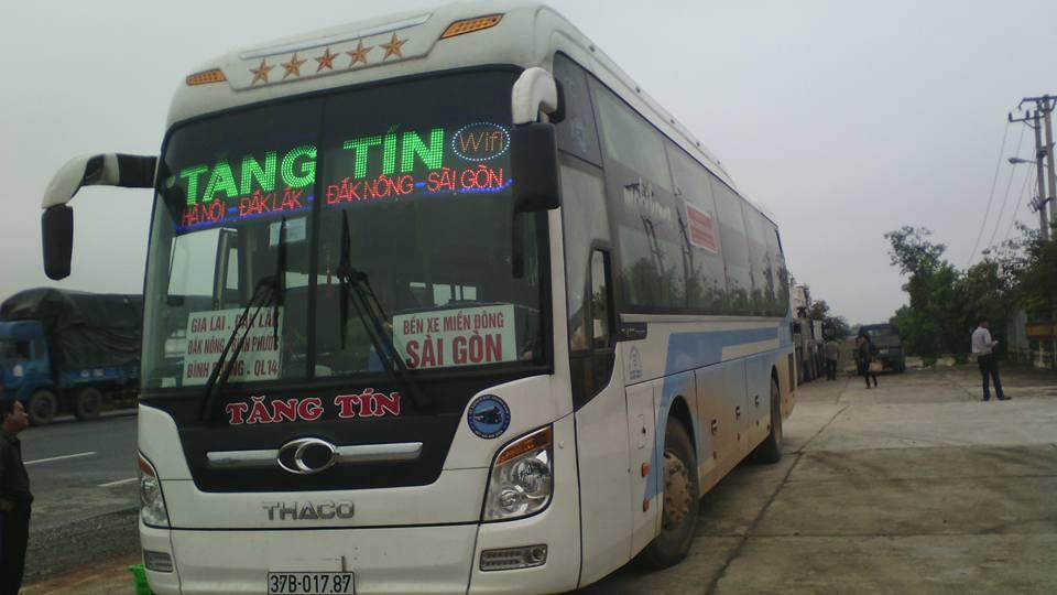 Xe khách tuyến Đắk Lắk đi Yên Thành
