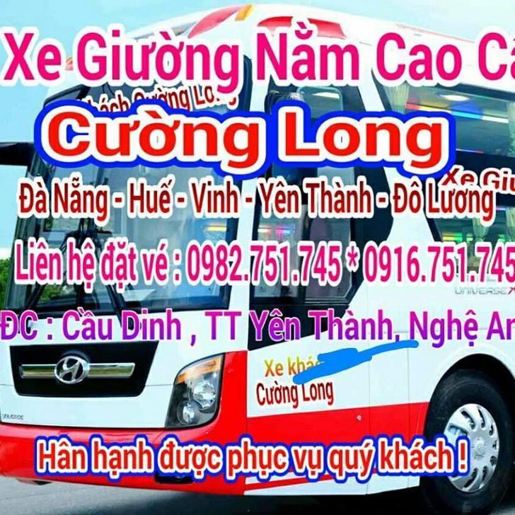 Xe khách tuyến Huế đi Yên Thành