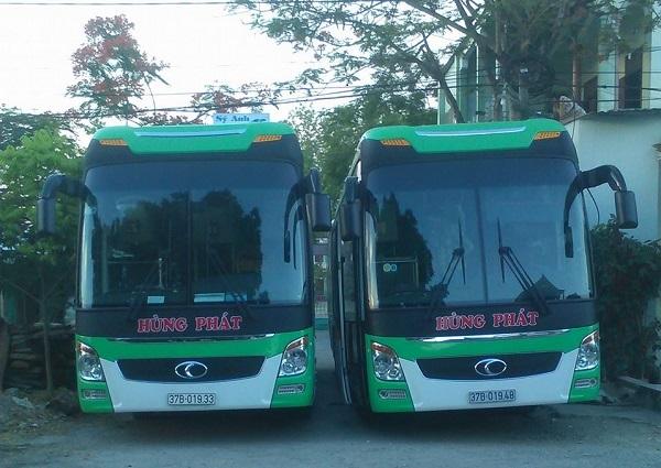 Xe khách tuyến Nha Trang đi Yên Thành
