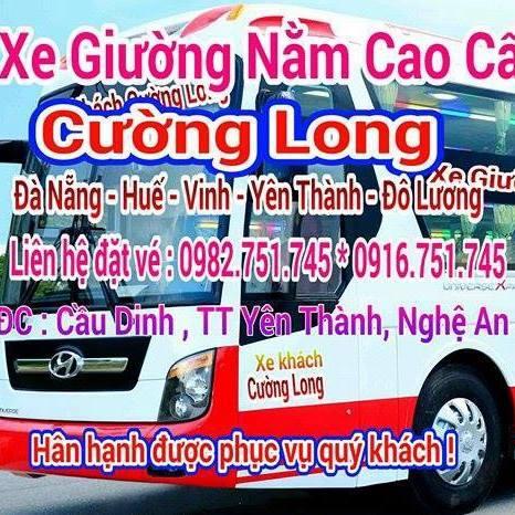 Tuyến xe khách Đà Nẵng đi Yên Thành