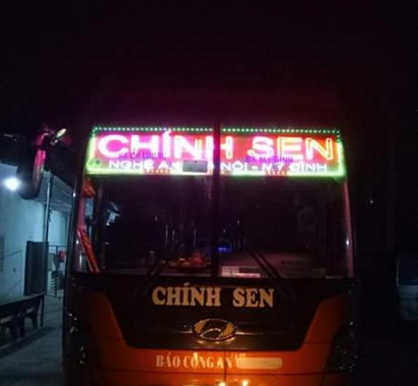 Xe khách Tuyến Hà Nội đi Yên Thành