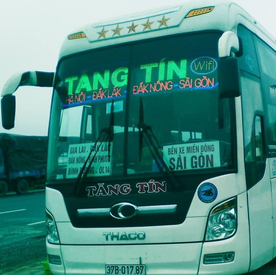 Xe khách tuyến Sài Gòn Yên Thành