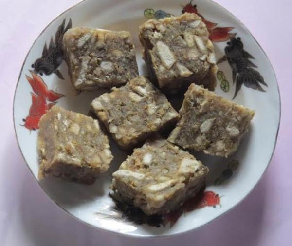 Khoai xéo món ăn dân giã đậm tonfh xứ Nghệ