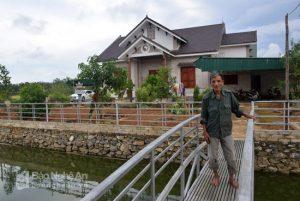 Ngôi nhà vườn tiền tỉ của mông người dân xã Sơn Thành